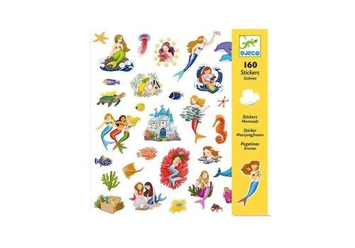Djeco Djeco - stickers - zeemeerminnen