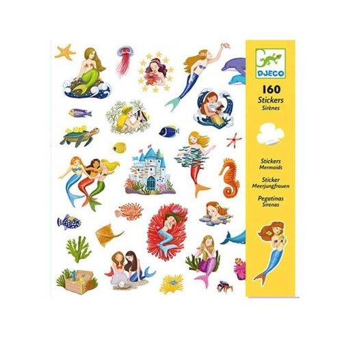 Djeco - stickers - zeemeerminnen