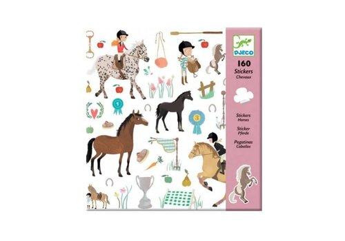 Djeco Djeco - stickers - paarden
