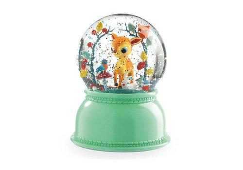Djeco Djeco - nachtlampje sneeuwbol - hertje