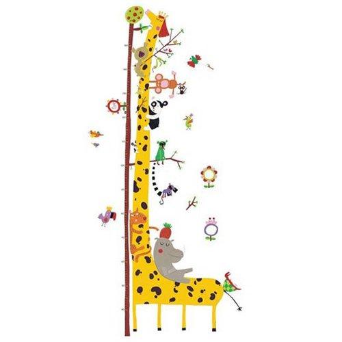 Djeco - muursticker groeimeter - vrienden van de amazone