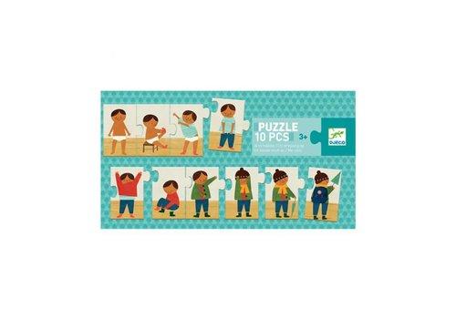 Djeco Djeco - duo puzzel – aankleden