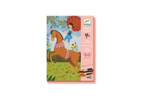 Djeco Djeco - borduren - sprookjespaarden
