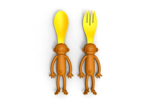 Invotis Invotis - spoon & fork monkey