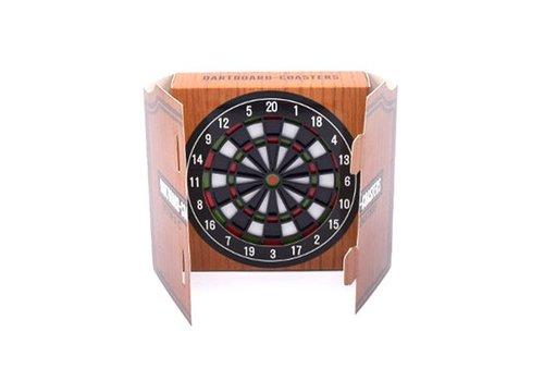 Invotis Invotis - onderzetter - dartbord (set van 4)