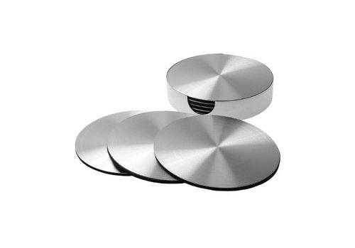 Invotis Invotis - onderzetter - metaal (set van 6)