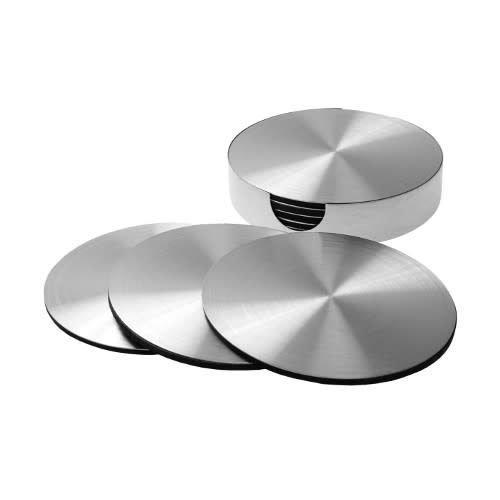 Invotis - onderzetter - metaal (set van 6)
