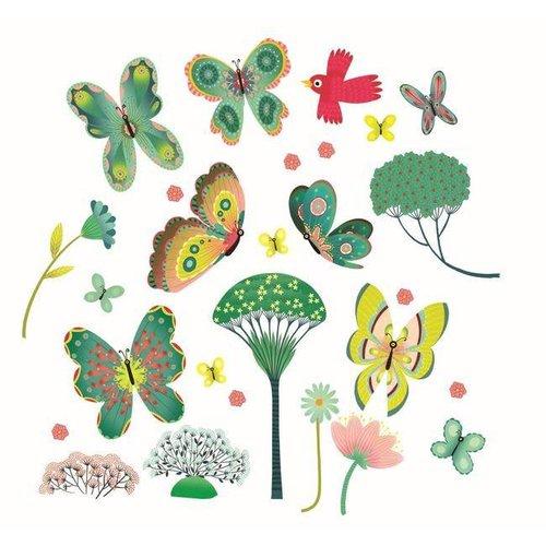 Djeco - raamstickers - vlinders
