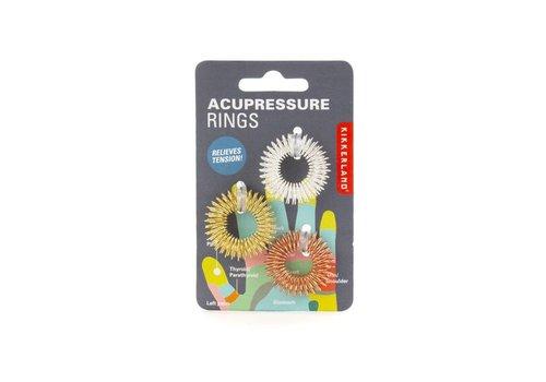 Kikkerland Kikkerland - acupressuur massage ringen