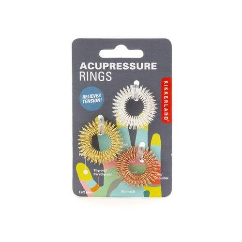 Kikkerland - acupressuur massage ringen