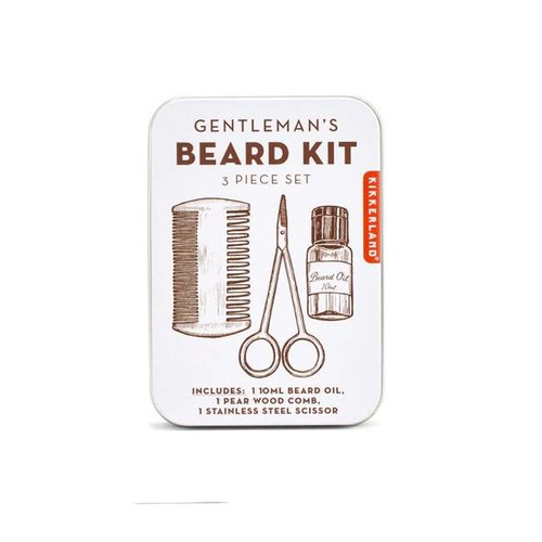 Kikkerland - gentleman's beard tin