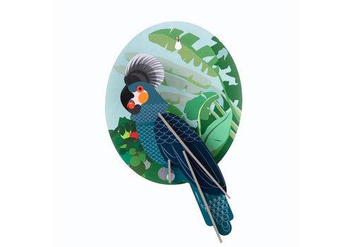 Studio Roof Studio Roof - muurdecoratie exotisch - papegaai