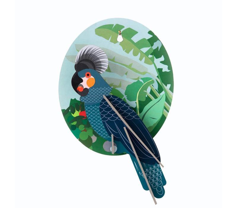 Studio Roof - muurdecoratie exotisch - papegaai