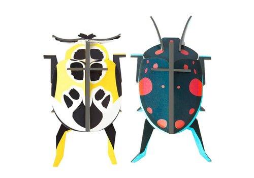 Studio Roof Studio Roof - muurdecoratie beetles - lieveheersbeestjes