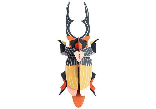 Studio Roof Studio Roof - muurdecoratie - giant stag beetle