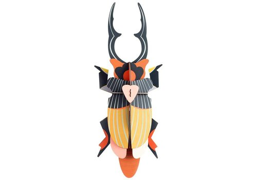 Studio Roof Studio Roof - wall deco - giant stag beetle
