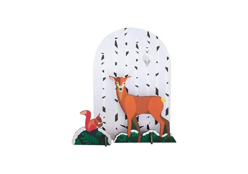 Studio Roof Studio Roof - pop out card - deer