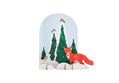 Studio Roof Studio Roof - pop out card - fox and rabbit
