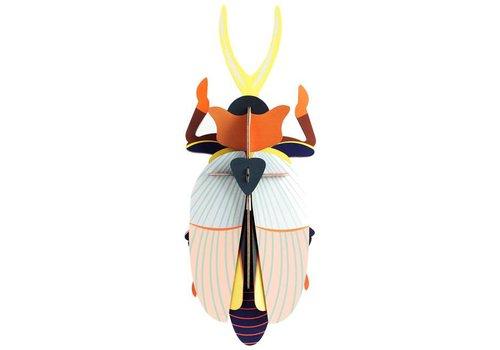 Studio Roof Studio Roof - muurdecoratie - rhinocores beetle