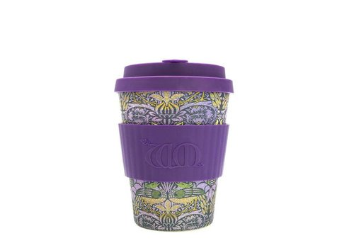 Ecoffee cup Ecoffee cup - 340 ml - william morris: peacock