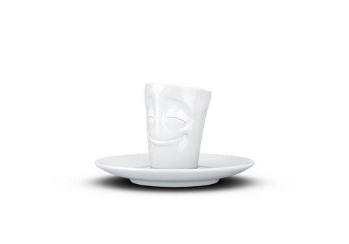 Tassen Tassen - espresso mok - gelukkig