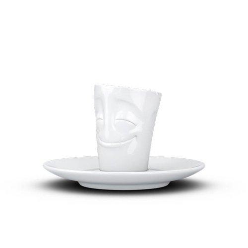 Tassen - espresso mok - gelukkig