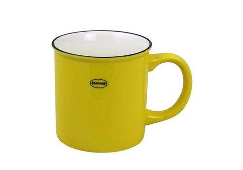 Cabanaz Cabanaz - koffiekop - geel