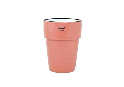 Cabanaz Cabanaz - beker - roze