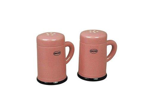 Cabanaz Cabanaz - peper & zout set - roze