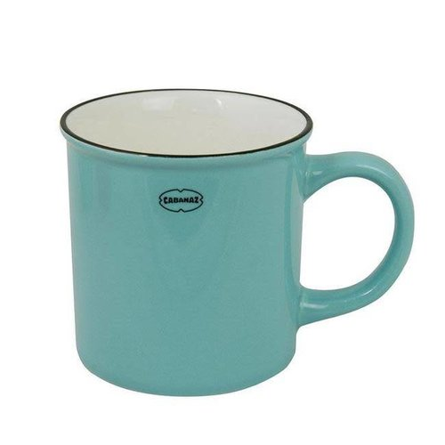 Cabanaz - koffiekop - blauw