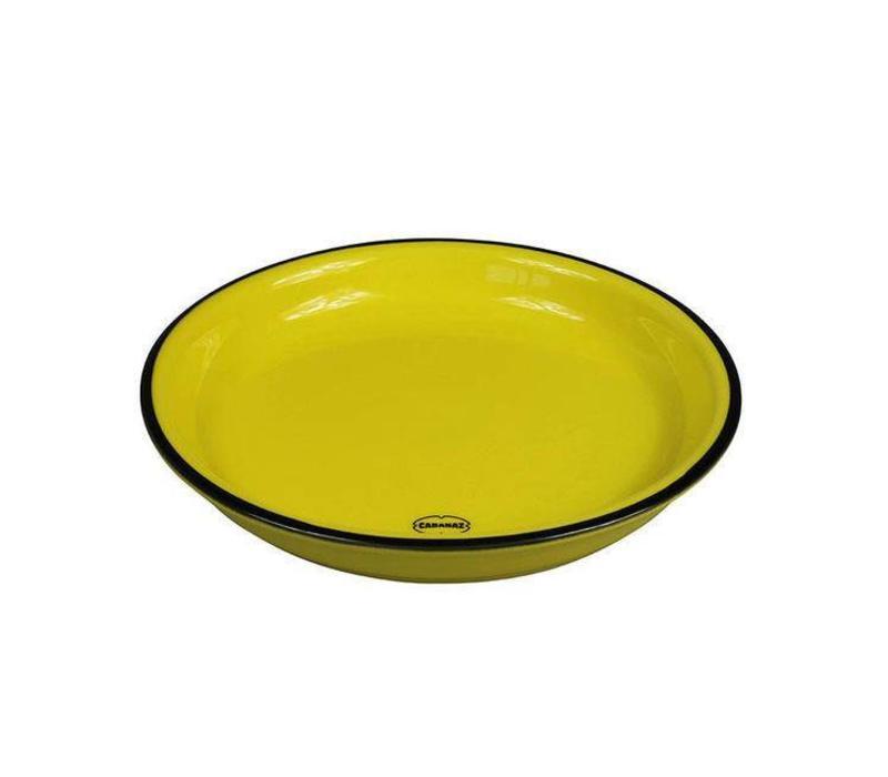 Cabanaz - gebaksbord - geel