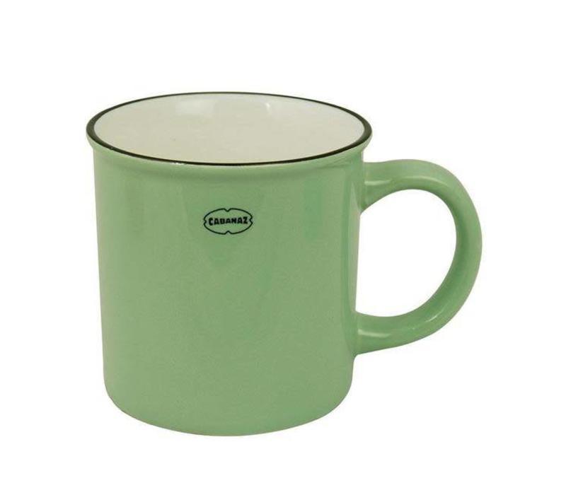 Cabanaz - koffiekop - groen