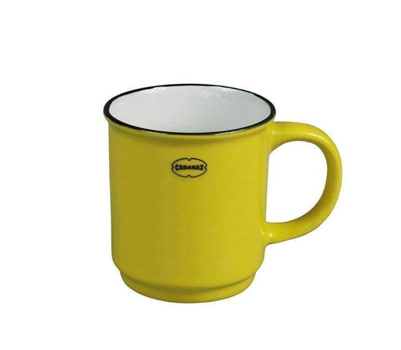 Cabanaz - stapelbare mok - geel