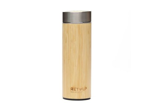 Retulp Retulp - thermosbeker - bamboo  (400ml)