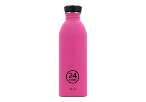 24 Bottles 24 Bottles - urban bottle 500ml - passion pink