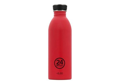 24 Bottles 24 Bottles - urban bottle 500ml - hot red
