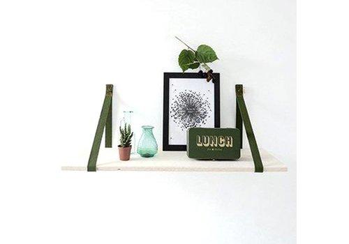 Deens Deens - plankdragers pien - army green