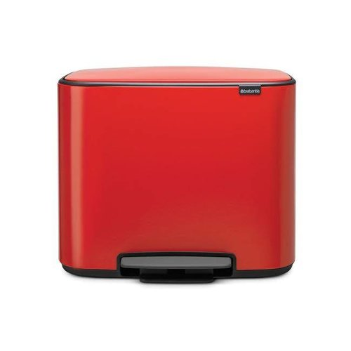 Brabantia - bo pedaalemmer - passion red