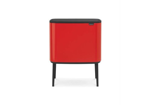 Brabantia Brabantia - bo touch bin (11 + 23 l) - passion red