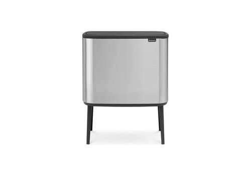 Brabantia Brabantia - bo touch bin (3 x 11 l) - matt steel (fingerprint proof)