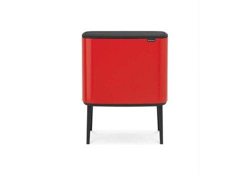 Brabantia Brabantia - bo touch bin (3 x 11 l) - passion red