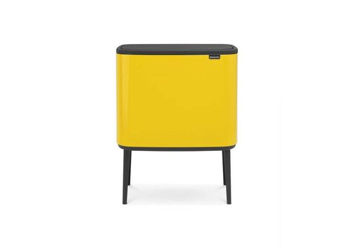 Brabantia Brabantia - bo touch bin (36 l) - daisy yellow