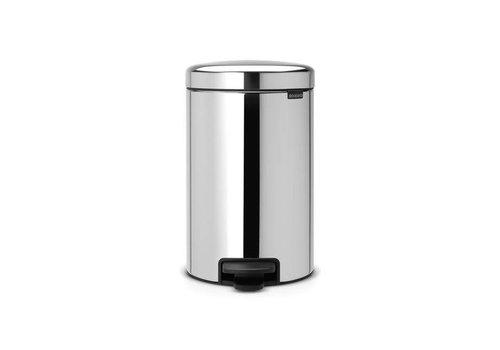 Brabantia Brabantia - pedaalemmer newicon (12 l) - brilliant steel