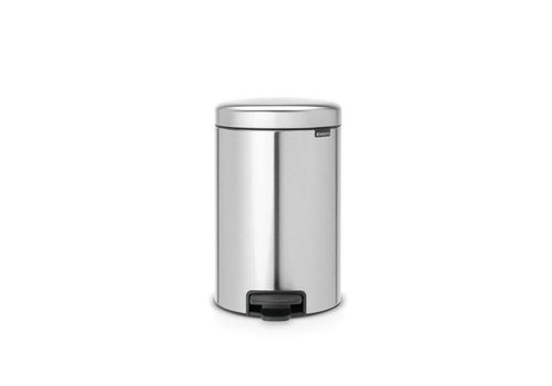 Brabantia Brabantia - pedaalemmer newicon (12 l) - matt steel (fingerprint proof)