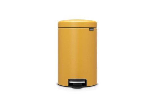 Brabantia Brabantia - pedaalemmer newicon (12 l) - mineral mustard yellow