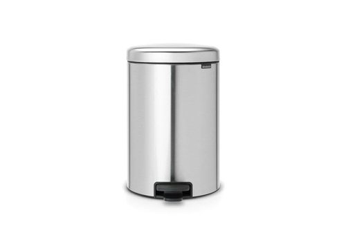 Brabantia Brabantia - pedaalemmer newicon (20 l) - matt steel (fingerprint proof)