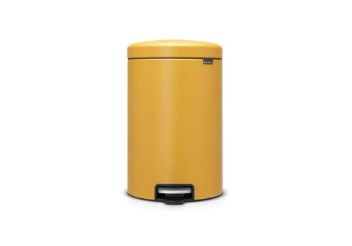 Brabantia Brabantia - pedaalemmer newicon (20 l) - mineral mustard yellow