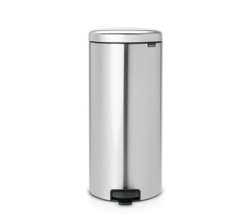 Brabantia - pedaalemmer newicon (30 l) - matt steel (fingerprint proof)