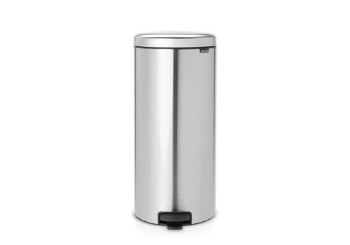 Brabantia Brabantia - pedaalemmer newicon (30 l) - matt steel (metalen binnenemmer)