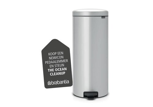 Brabantia Brabantia - pedaalemmer newicon (30 l) - metallic grey (metalen binnenemmer)
